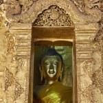 Thailand, Lampang Province, Pratartlampangluang Temple, Buddha statue — Stock Photo #10915977