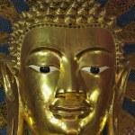 Thailand, Chiang Mai, Prathat Doi Suthep Buddhist temple, golden Buddha statue — Stock Photo #11096267