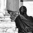 Thailand, Chiang Mai, Prathat Doi Suthep Buddhist temple, young Buddhist monk — Stock Photo