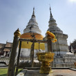 Thailand, Chiang Mai, Prathat Doi Suthep Buddhist temple - Foto Stock