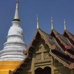 Thailand, Chiang Mai, Phra Thart doi suthep temple (Wat Phra Thart Doi Suthep), roof ornaments — Stock Photo #11151499