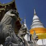 Thailand, Chiang Mai, Phra Thart doi suthep temple (Wat Phra Thart Doi Suthep) — Stock Photo #11151562