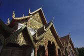 Thailand, Chiang Mai, Phra Thart doi suthep temple (Wat Phra Thart Doi Suthep), roof ornaments — Stock Photo