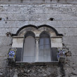 Italy, Sicily, Taormina (Messina Province), baroque window of an old building — Stock Photo #11665952