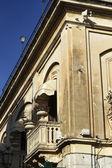 Italy, Sicily, Taormina (Messina Province), the balcony of a luxury hotel — Stock Photo