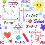School seamless pattern — Stock Vector #11067736