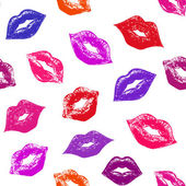Abstract lips — Vector de stock