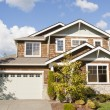 Suburban house — Stock Photo