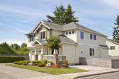 Suburban house — Stock Photo