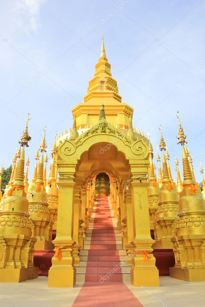 Archaeological sites in Thailand — Stock Photo #10764036