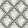 Vector de stock : White roses seamless pattern