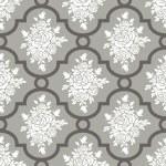White roses seamless pattern — Stock Vector