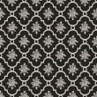 Grey roses seamless pattern — Stock Vector