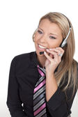 Callcenter Agent — Stock Photo