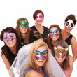Party girls — Stock Photo #10896595