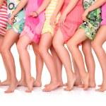 Summer legs — Stock Photo