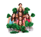 Cheerleaders — Stock Photo