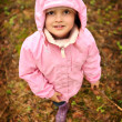 Stock Photo: Little Pink Riding Hood