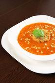 čerstvá polévka — Stock fotografie