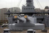 Mikasa battleship, Yokosuka, Japan — Stock Photo