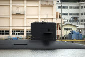 Military submarine, Yokosuka, Japan — Stock Photo