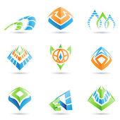 Mystic Symbols — Stock Vector