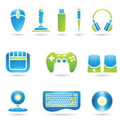 Computer Accessories — Stock Vector