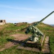 Anti-aircraft gun — Stock Photo