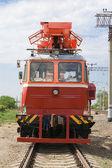 Rail service vehicle — Stock Photo