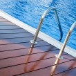 swimming pool&quot — Stock Photo