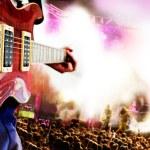 Fondo de música en vivo — Foto de Stock