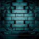 Darck brick wall — Stock Photo