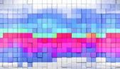 кубики фон — Стоковое фото