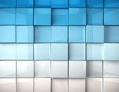 Fond de cubes — Photo