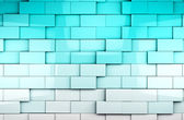Mosaic cubes background — Stock Photo