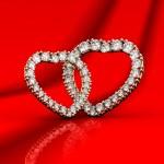 Hearts. Valentine's Day card — Stock Photo #12141866