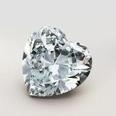 Forma di cuore di diamante — Foto Stock