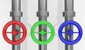 Concept van rgb-kleurmodel — Stockfoto