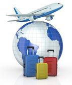Concept of travel — Stock Photo