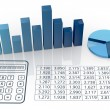 Stock Photo: Concept of financial analysis