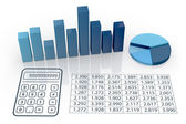Concept of financial analysis — Stock Photo