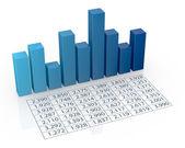 Concept de l'analyse financière — Photo