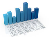 财务分析的概念 — 图库照片
