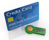 Konzept des online-banking-service — Stockfoto