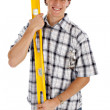 Young Happy Construction Worker — Stock Photo