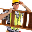Stock Photo: Young Happy Carpenter