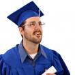 Male College Grad — Stock Photo