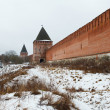 Stock Photo: Kremlin wall in Smolensk, Russia