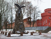 Monument To Heroes Of 1812. Smolensk. — Stock Photo