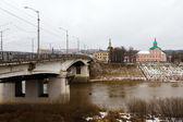 Bridge and church. Smolensk. — Stock Photo